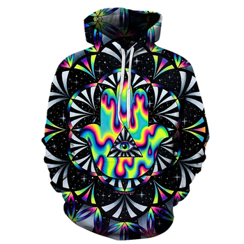 3D Print funny New Cool Geometric pattern Sweatshirt Hoodies Unisex Sweatshirt Hip-hop Fashion Streetwear Men and women Hoodies 1