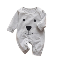 2020 Fashion Newborn Toddler Infant Baby Boys Girls Romper Long Sleeve Jumpsuit Playsuit Baby Outfits Clothes