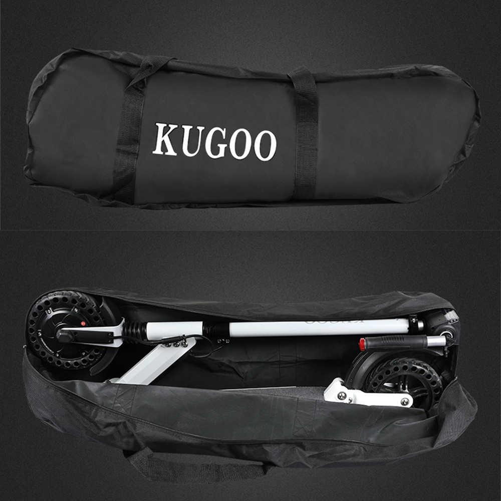 Originale KUGOO S1 PRO Pieghevole Scooter Elettrico 7.5AH 350W Display LCD 3 Modalità di Velocità 8 Pollici Solido A Nido D'ape di esplosione pneumatici a prova di