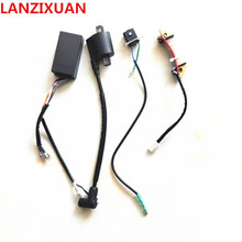 Free shipping HangKai 2 strok 5 6 HP outboard/ outboard engines/ boat motors/gnition coil ignition system