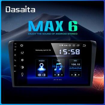 "Dasaita 9"" Touch Screen Car 1 Din Android 9.0 for Mazda 3 Radio Player 2006 2007 2008 USB HDMI Car Stereo Navigation TDA7850"