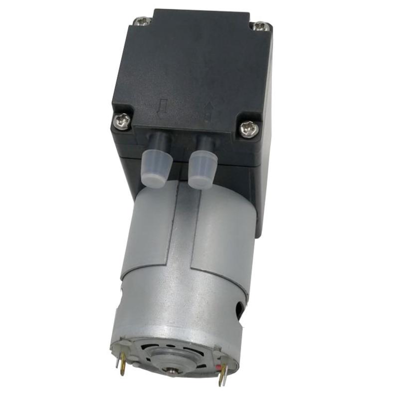 80Kpa Mini Vacuum Pump DC 12V Small Vacuum Suction Pump Diaphragm Pump Micro-Vacuum Pump 12L / Min