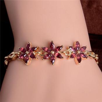 Women's Fashion Colorful Bracelets Bracelets Jewelry New Arrivals Women Jewelry Metal Color: H258