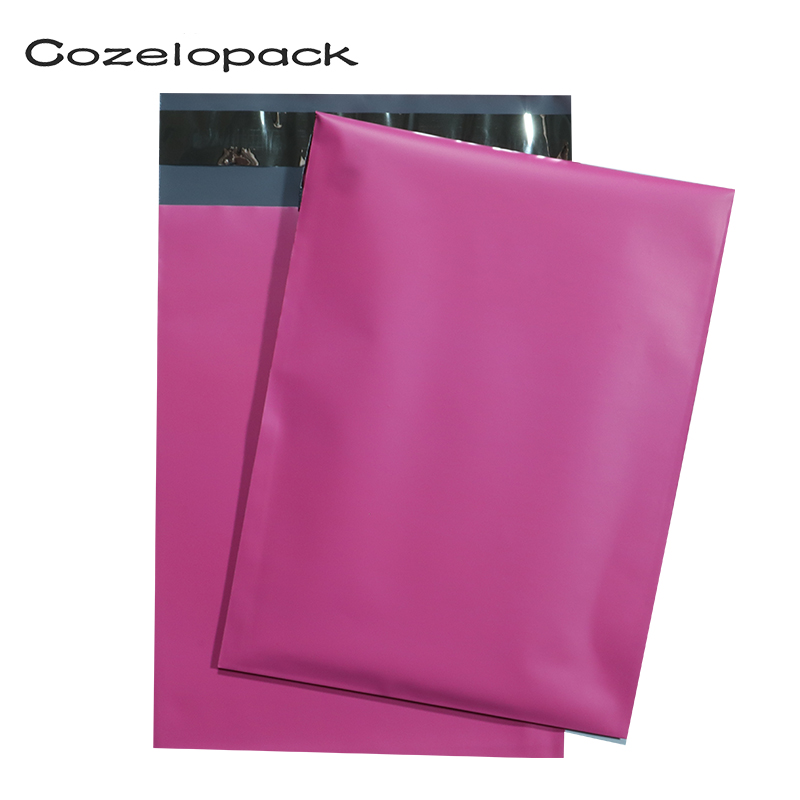 100pcs 6x9inch Pink Poly Mailer 15x20cm Self Adhesive Post Mailing Package Mailer Shipping Envelopes Courier Storage Envelopes