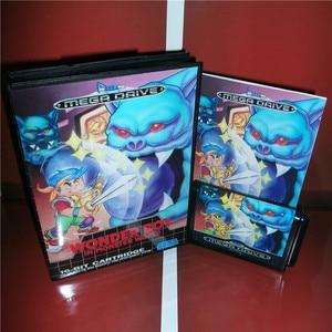 Image 1 - عجب Boy الاتحاد الأوروبي غطاء مع صندوق ودليل ل Sega megadve نشأة لعبة فيديو وحدة التحكم 16 بت MD بطاقة