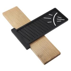 Image 5 - Kunststoff Präzision Holz Winkel Scribe Mark Linie Gauge & Regel Gehrung T Typ Herrscher Carpenter Mess Outdoor Tool
