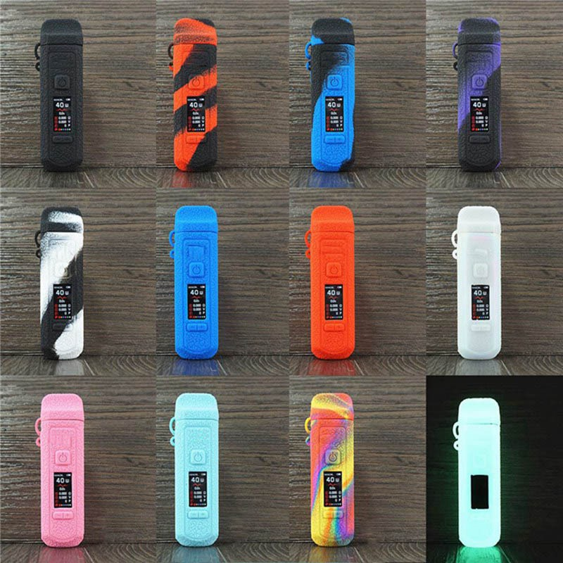 Case For SMOK RPM40 Pod Kit Vape Protective Silicone Skin Sleeve Cover Wrap Gel For SMOKTECH RPM 40