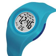 Synoke спортивные детские часы лучший бренд красочные светящиеся