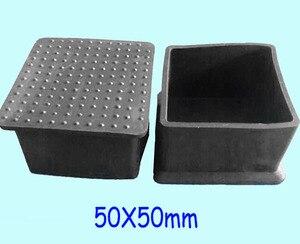 Image 3 - 20x20 22x22 25x25 30x30 38x38 40x40 45x45 50x50 60x60 chaise carrée pieds capuchon protection enveloppement table bureau jambe tube insert fin