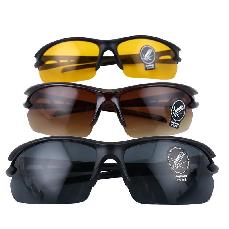 1Pcs Night Vision Goggles Drivers Night-vision Glasses Anti Night With Luminous Driving Glasses Protective Gears Sunglasses