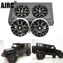2.2 Inch Metalen Wiel Hub Voor 1/10 Rc Simulatie Klimmen Afstandsbediening Auto Traxxas Trx4 TRX-6 Rc4wd Jimny Cfx Vs4 scx10 90046