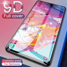 Protective Glass On For Samsung Galaxy A50 A10 A6 A9 2018 Tempered Glass On For A5 A3 A7 J3 J5 J7 Pro 2017 Screen Protector Film