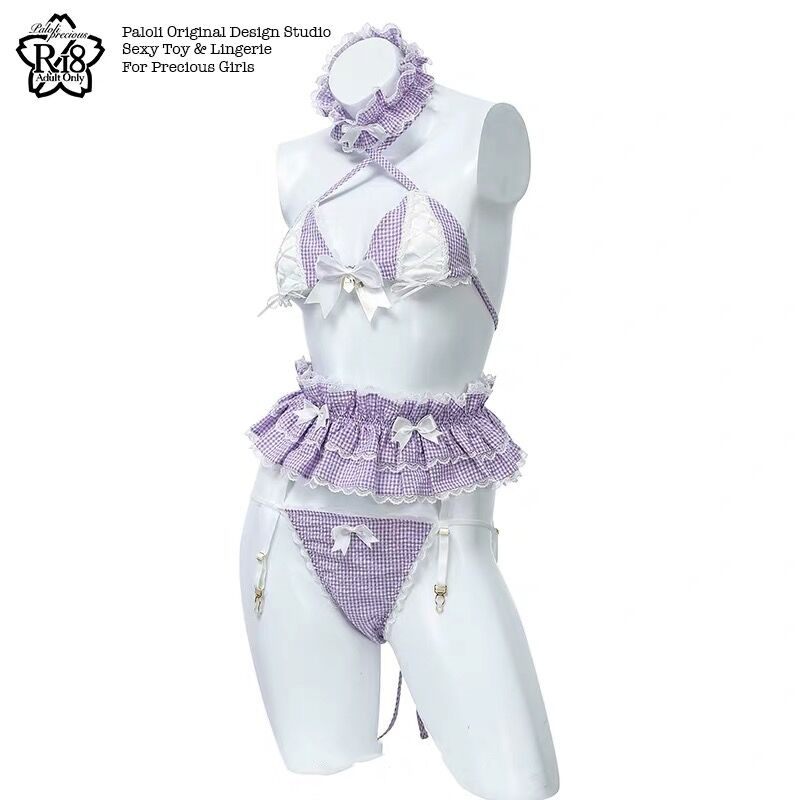 Womens Sexy Costume Lolita Cute Maid Uniform Kawaii Anime Bikini Set Temptation Erotic Underwear Costume Cosplay 4