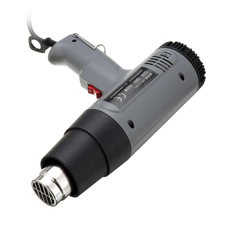JIMI 1600 Вт 220 В горячий воздух Воздуходувка Электрический тепловой инструмент двойной бесступенчатая температура регулируемый сварочный инструмент