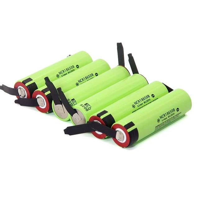 2019 New Original NCR18650B 3.7 v 3400mah 18650 Lithium Rechargeable Battery Welding Nickel Sheet batteries 5