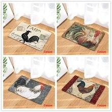 Doormat Carpets Chicken Print Mats Floor Kitchen Bathroom Rugs slogan print doormat