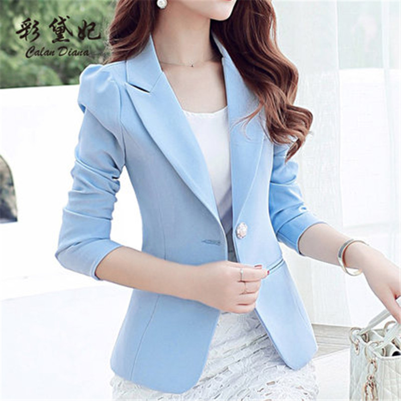 Women's Jackets Spring Autumn Female Hot Sale Fashion Blazers High Quality Girls Kroean Style Office Clothes LWL090