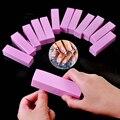 Быстро раскупаемый 1 шт. форма ногтей Полировщики для ногтей файл для ультрафиолетовая гелевая губка для ногтей cо шлифовальными буферными ...