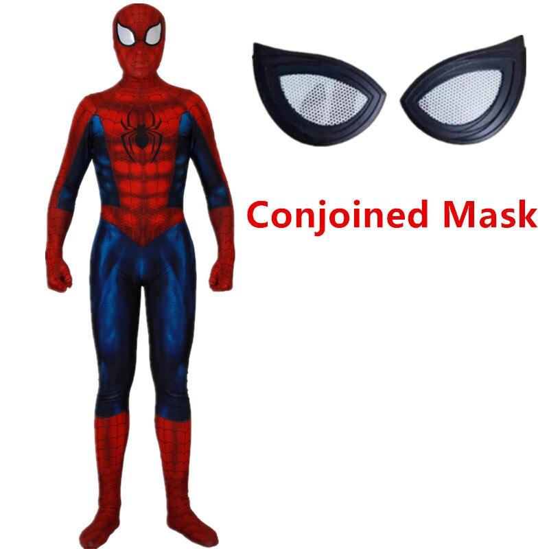 Ultimate Spiderman Costume Miles Morales Superhero Combinaison adulte cosplay costume