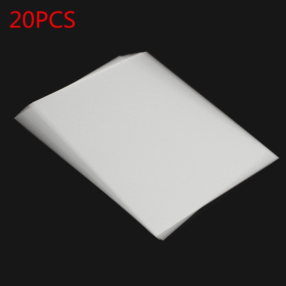 Прозрачная пленка для струйной печати на 20 листов, печатная плата, проектированная струйная пленка, сохраняет толщину чернил 0,12 мм