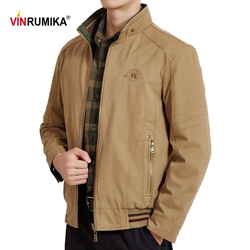 Куртка мужская двусторонняя, 2020 хлопок, на весну-осень