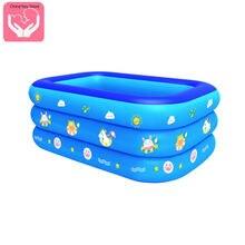 Детский надувной бассейн с мультипликационным принтом детский