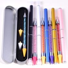 Набор страз для рукоделия, стразы с кристаллами, восковая ручка-карандаш, инструмент для украшения одежды, алмазные инструменты для живопис...