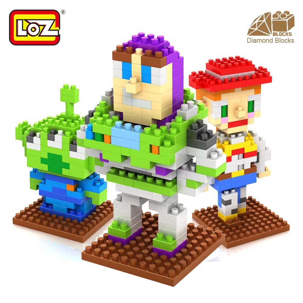 LOZ мини милые алмазные строительные блоки игрушки DIY мультяшная модель маленькие кирпичи игрушка Викторина на день рождения Рождественский...