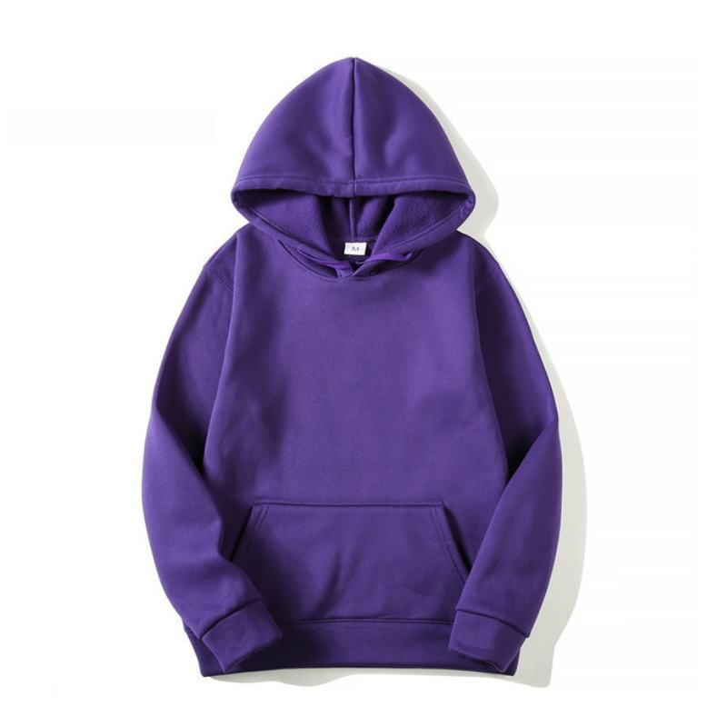 Quality Brand Men Hoodie 2019 Autumn Male Hip Hop Streetwear Men Pullover Sweatshirts Hoodies Mens Solid Color Hoodie