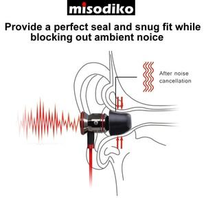 Image 5 - Misodiko Tws Pro di Gomma Piuma di Memoria Auricolari per Ture Auricolari Senza Fili Samsung Galaxy Gemme, gear Iconx/Bragi Dash Pro per Le Cuffie