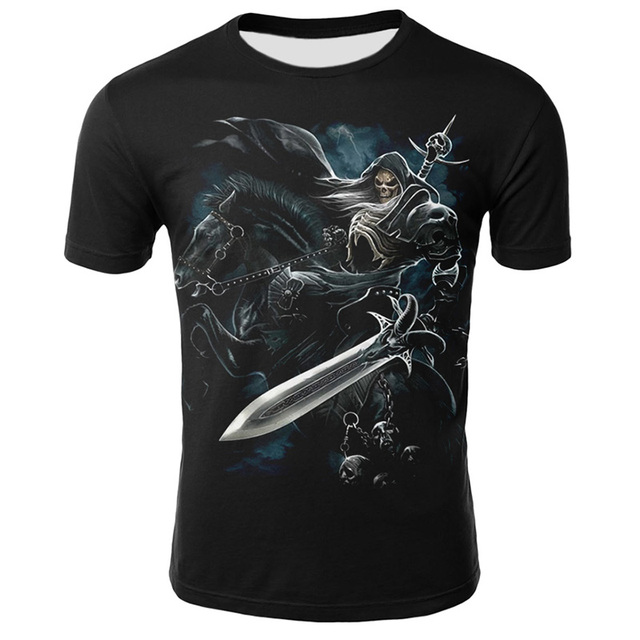 Summer New Funny Skull 3D T Shirt Summer Hipster Short Sleeve Tee Tops Men/Women Print T-Shirts Casual Homme Short Sleeve Tops 2