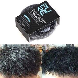 Soap Hair Darkening Shampoo Bar Repair Gray White Hair Color Dye Face Hair Body Shampoo 55g Natural Organic Hair Conditioner