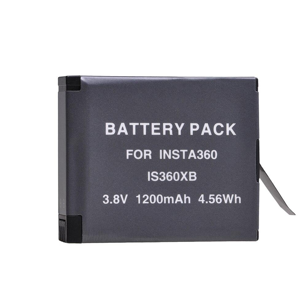 4pcs bateria para Insta360 ONE X Câmera