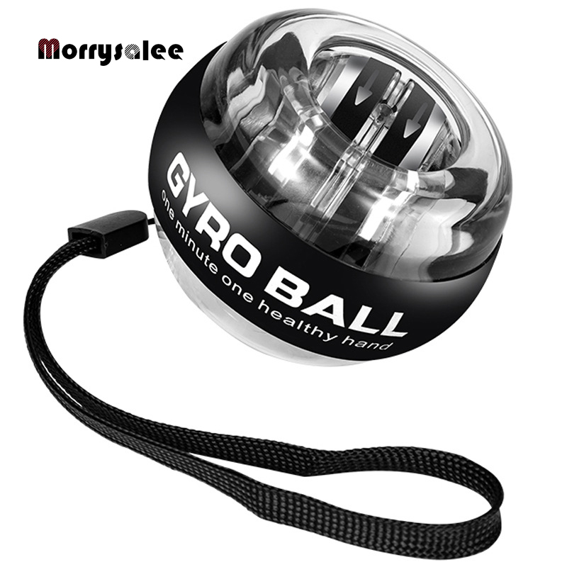 Self-starting Powerball Wrist Power Hand Ball Muscle Relax Spinning Wrist Trainer Exercise Equipment Strengthener 100LBS