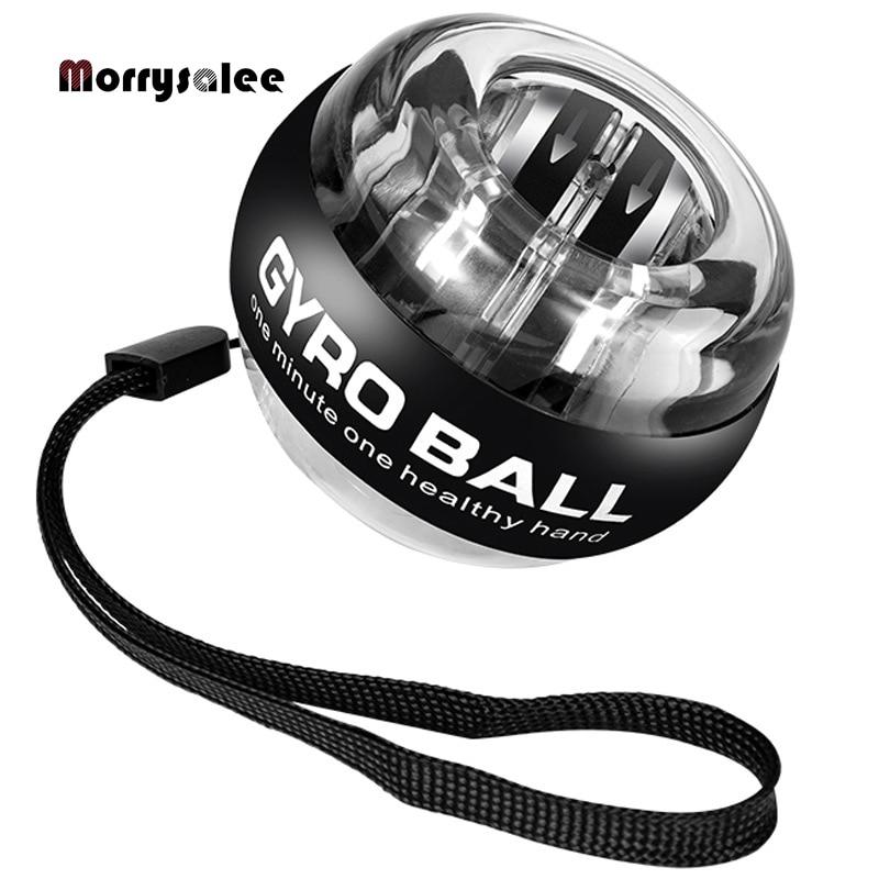 Самозапуск мощный шарик на запястье Мощный Ручной шар для расслабления мышц спиннинг на запястье тренажер для упражнений усилитель 100 фунт...