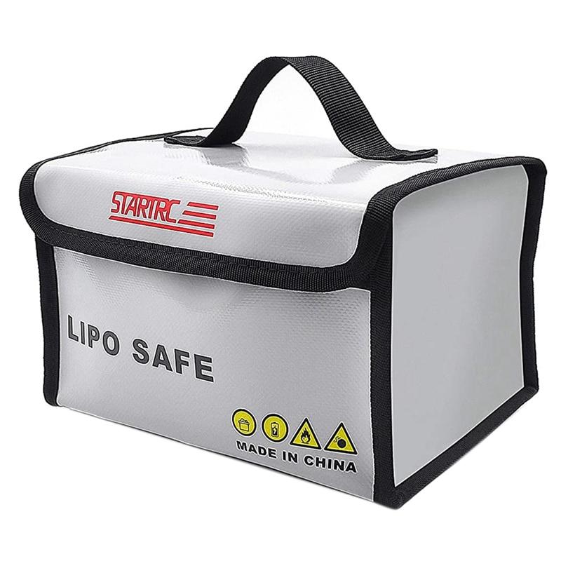 STARTRC LiPo Battery Bag Fireproof Safe Bag Safe Guard Explosionproof Pouch Sack for DJI FPV Combo Lipo Battery