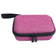 אחסון תיק רוכסן סגירת תיק נשיאה אנטי אבק בית קשיח EVA עם רצועת נייד נסיעות פאוץ עבור Kidizoom מצלמה Pix