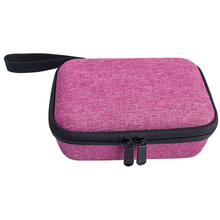 Sac de rangement fermeture à glissière étui de transport Anti poussière maison dur EVA avec sangle pochette de voyage Portable pour appareil photo Kidizoom Pix