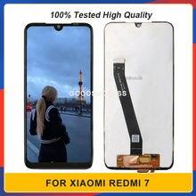 6.26 ''Xiaomi Redmi için 7 Lcd ekran dokunmatik ekran cam Panel sayısallaştırıcı meclisi M1810F6LG Lcd ücretsiz araçlar
