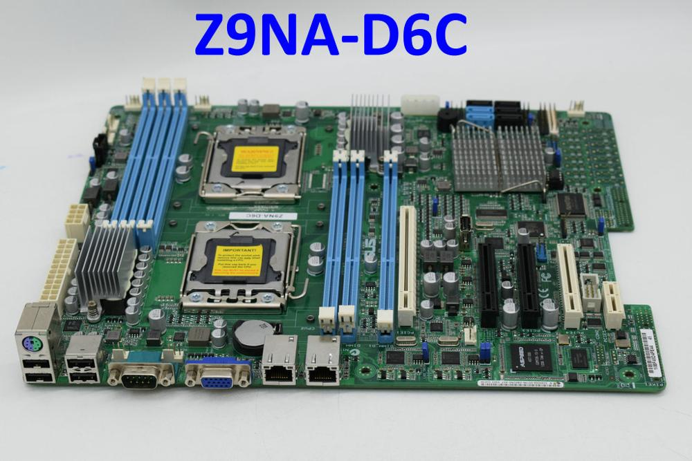 For ASUS Z9NA-D6C LGA1356 DDR3 C602 ATX Original Used motherboard title=