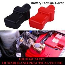 Универсальный автомобильный Аккумуляторный Терминал 2 шт. Автомобильная отрицательная клемма аккумулятора положительная клемма крышки лодки изоляционный протектор 0905#20