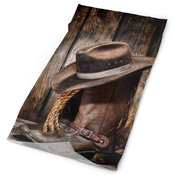 Botas de vaquero transpirables, sombrero, gorro, banda para el cuello, pañuelo para la cara, bufanda mágica, bufanda de tubo, Bandana, pasamontañas y bufanda de deporte 16