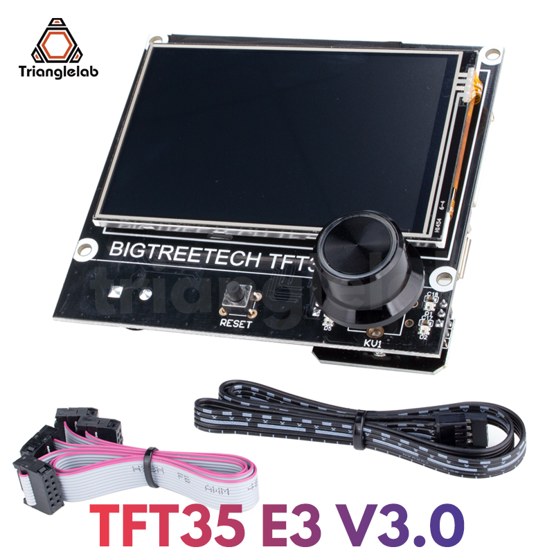 trianglelab BIGTREETECH TFT35 E3 V3 0 Touch Screen compatible 12864LCD Display Wifi TFT35 3D Printer Parts For Ender3 CR-10 SKR