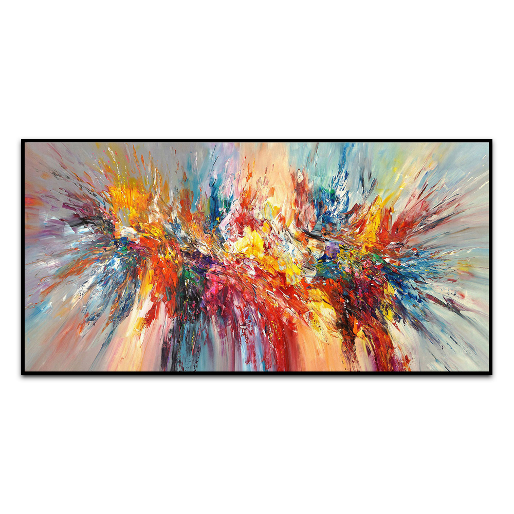 Knife Painting Living Room Office Wall Canvas Abstract Handmade Decorative Painting Graffiti Art