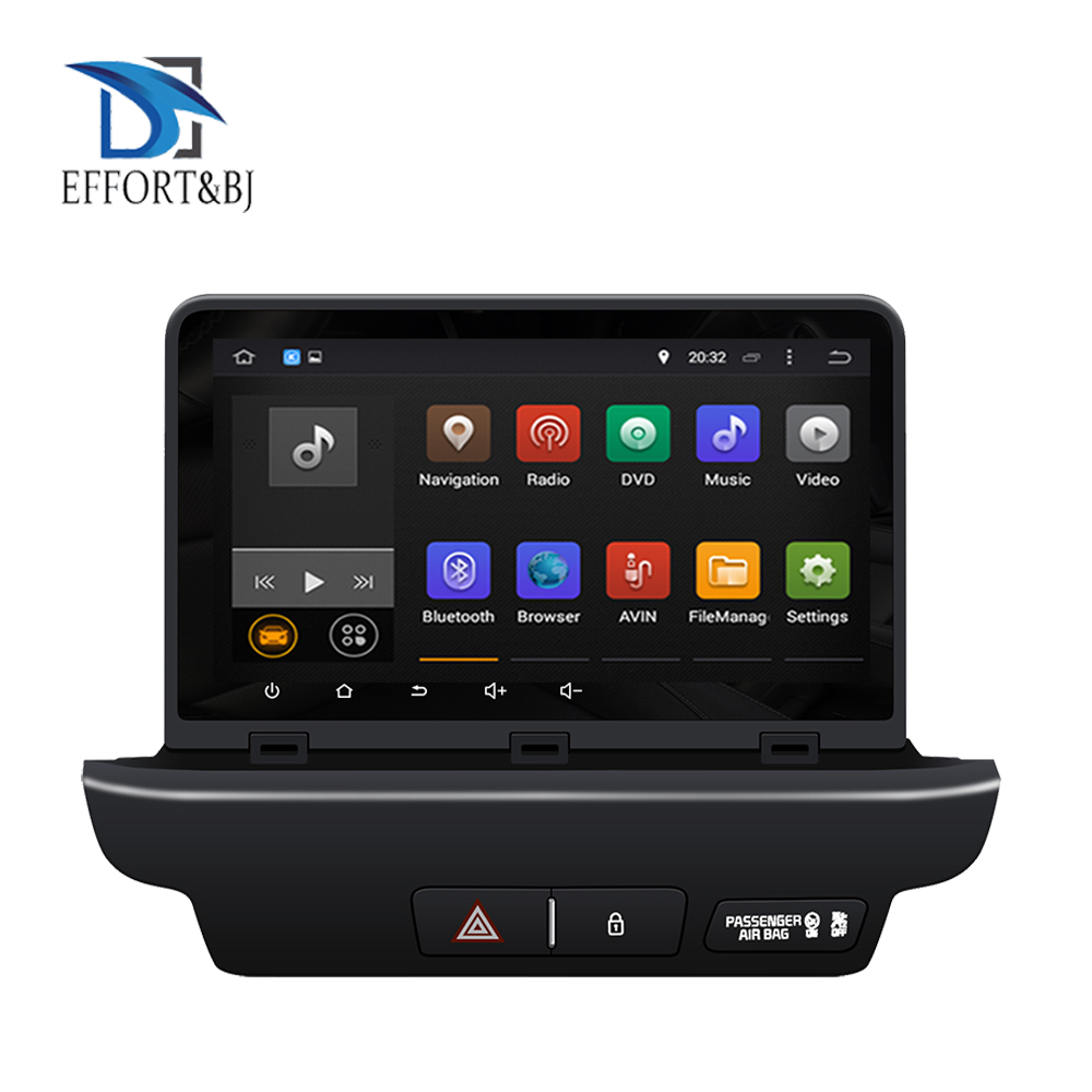Octa Core Android 9.0 Car Gps player 1024*600 For KIA CEED 2018-2020 Car GPS Navigation Head Unit BT stereo video Tape Recorder image