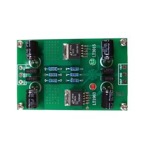 Image 1 - LT1963A LT3015 חיובי ושלילי מתח DC DC דיוק רעש נמוך ליניארי מוסדר אספקת חשמל עבור Preamp DAC