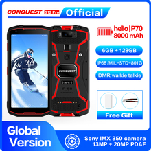 Conquest S12 Pro IP68 Waterproof 4G Mobile Phone 6G+128GB 5.99