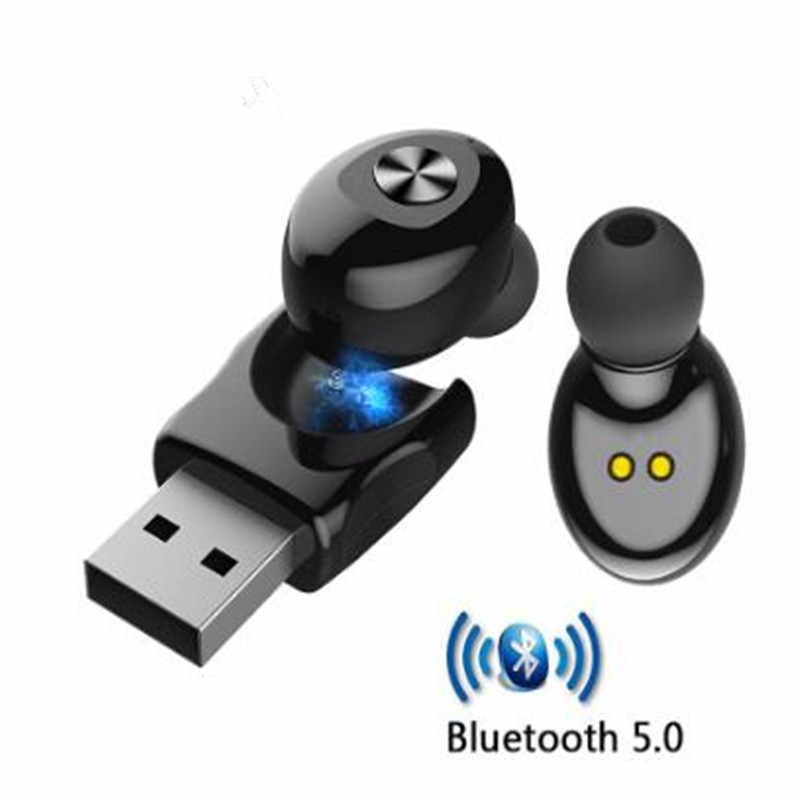 TWS 5,0 Bluetooth беспроводные наушники XG12 стерео наушники с микрофоном громкой связи USB Спортивная гарнитура для iPhone samsung