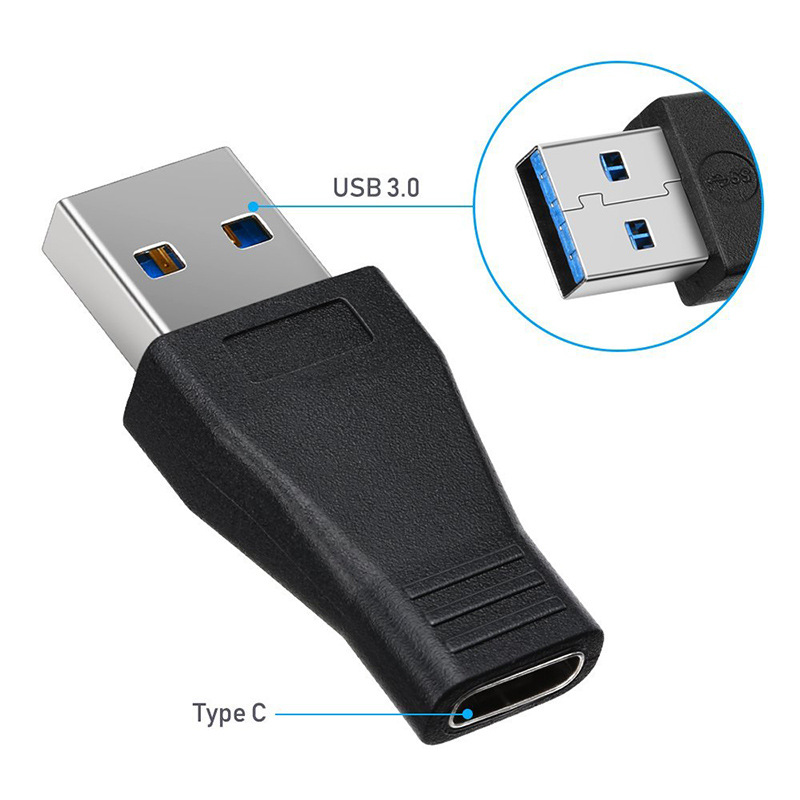 USB Type C OTG Adapter USB C Male To Type C Female Cable Converters For Macbook Samsung S10 Huawei USB To Type-c OTG