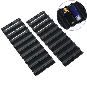 Uchwyt na baterię 1 szt 10x plastikowy uchwyt na baterię for18650 uchwyt na baterię cylindryczny uchwyt na komórkę tanie i dobre opinie SD HI 18650 Battery Holder